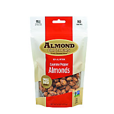 Almond Brothers Cayenne Pepper Almonds 6