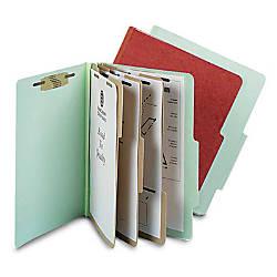 Pendaflex Pressboard 8 Fastener Classification Folder