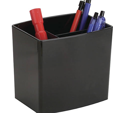 OIC® 2200 Series Large Pencil Cup, Black