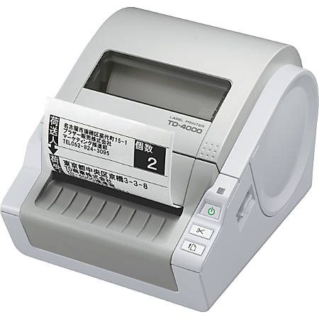 Brother Direct Thermal Monochrome Printer, TD4000