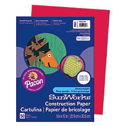 SunWorks Construction Paper 9 x 12