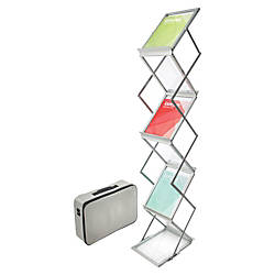 Deflect O Collapsible Literature Floor Stand