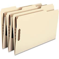Smead Manila Fastener Folders Legal Size