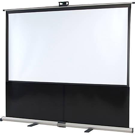 "InFocus SC-PUW-73 Manual Projection Screen - 73"" - 16:10"