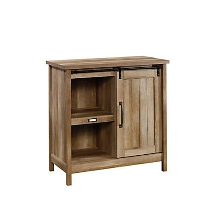 Sauder® Adept Accent Storage Cabinet, 2 Adjustable Shelves, Craftsman Oak
