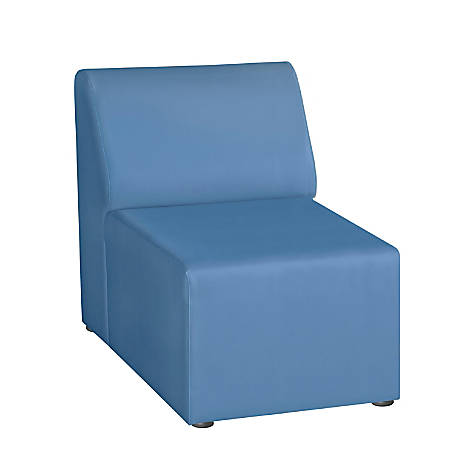 "Marco Single Chair, 29.5""H, Neptune"