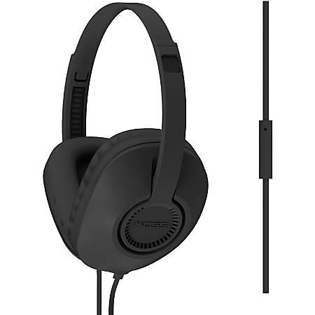 Koss UR23i Headset - Stereo - Mini-phone - Wired - 34 Ohm - 20 Hz - 20 kHz - Over-the-head - Binaural - Circumaural - 3.94 ft Cable - Black