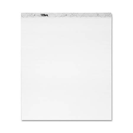 """TOPS® Notes Plus® 100% Recycled Self-Stick Easel Pads, 25"""" x 30"""", 30 Sheets, Carton Of 2"""