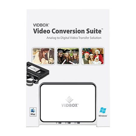 VidBox® Video Conversion Suite™ 2.0, For PC And Apple® Mac®, Traditional Disc