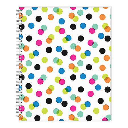 """Ampersand for Blue Sky™ Academic Weekly/Monthly Dots Planner, 8-1/2"""" x 11"""", July 2019 to June 2020"""