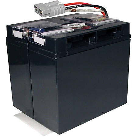 Tripp Lite UPS Replacement Battery Cartridge for select APC UPS Systems - Maintenance-free Lead Acid