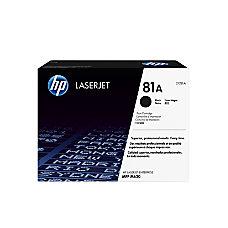 HP LaserJet 81A Black Toner Cartridge