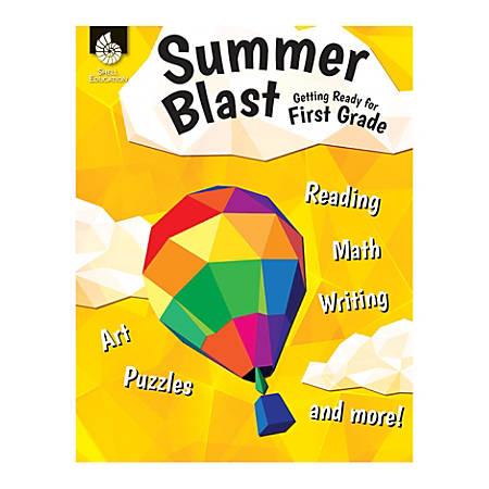 Shell Education Summer Blast Activity Book, Getting Ready For Kindergarten