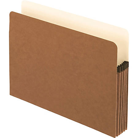 "Pendaflex® Smart Shield™ File Pockets, Letter Size, Redrope, 5 1/4"" Expansion"