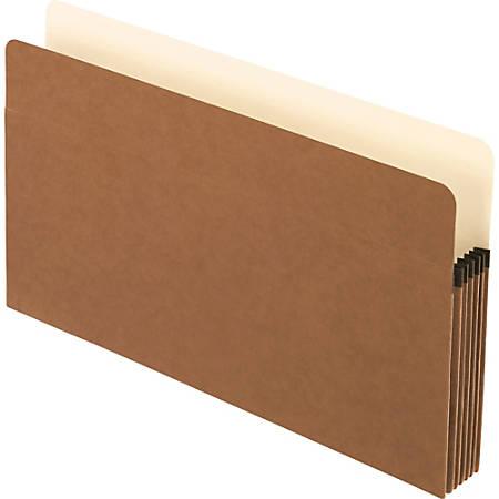 "Pendaflex® Smart Shield™ File Pockets, Legal Size, Redrope, 5 1/4"" Expansion"