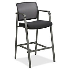Lorell Mesh Back Stackable Guest Stool