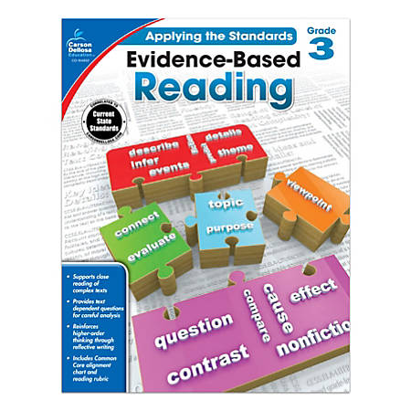 Carson-Dellosa™ Evidence-Based Reading Workbook, Grade 3