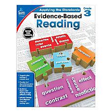 Carson Dellosa Evidence Based Reading Workbook