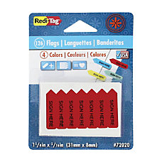 Redi Tag Mini Arrow Page Flags