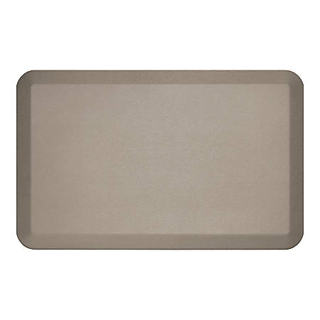 """GelPro NewLife EcoPro Commercial Grade Anti-Fatigue Floor Mat, 32"""" x 20"""", Taupe"""