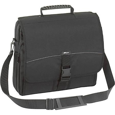 "Targus® Messenger Notebook Case With 15.6"" Laptop Pocket, Black"