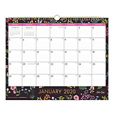Blue Sky Monthly Wall Calendar 15