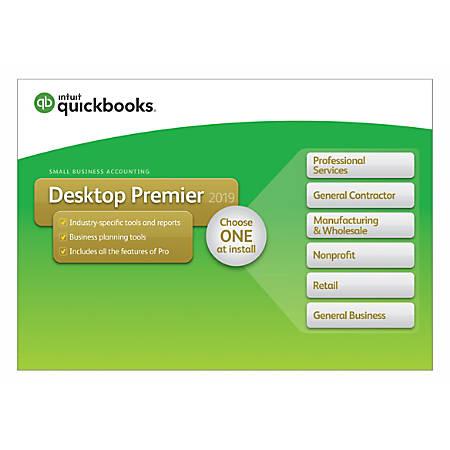 QuickBooks® Desktop Premier 2019, Traditional Disc Item # 8840427