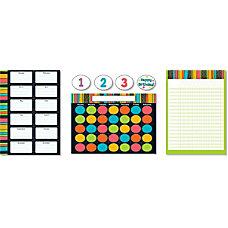 Carson Dellosa Stylin Stripes Bulletin Board