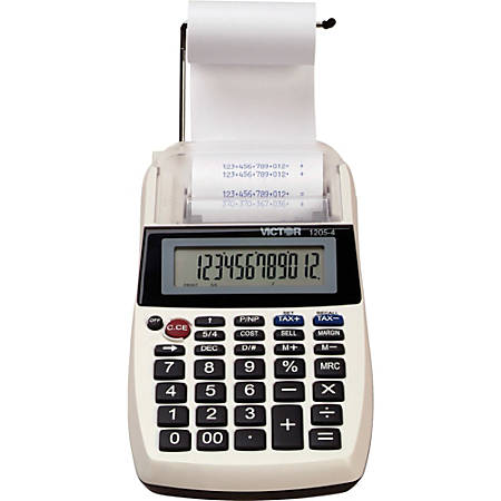 Victor® 1205-4 Commercial Desktop Printing Calculator
