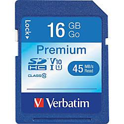 Verbatim Class 10 Secure Digital High