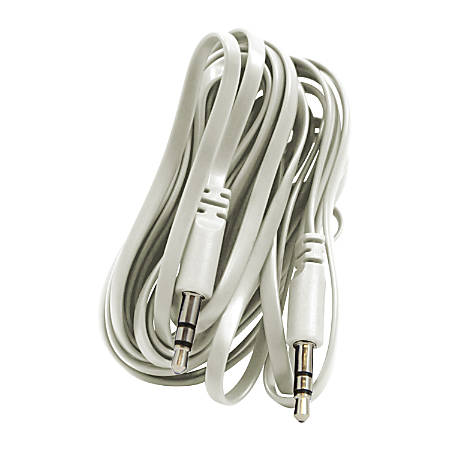 Duracell® 3.5mm Stereo Audio Cable, 10', White
