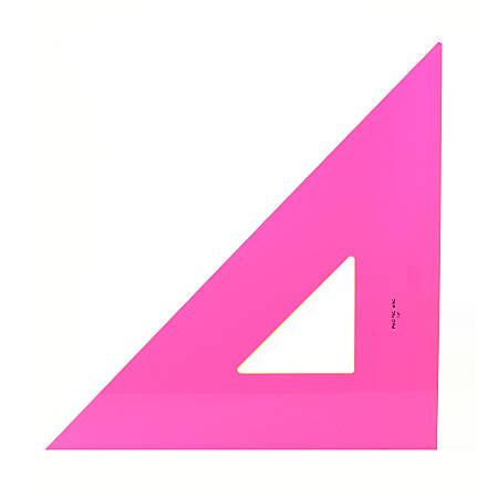 "Pacific Arc Professional Fluorescent Triangles, 18"", 45/90°"