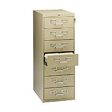 Tennsco Card Files Media Storage Cabinet