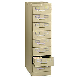 Tennsco Card Files Media Storage Cabinet