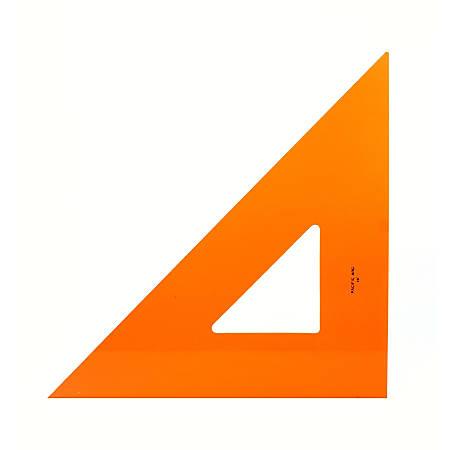 "Pacific Arc Professional Fluorescent Triangles, 16"", 45/90°"