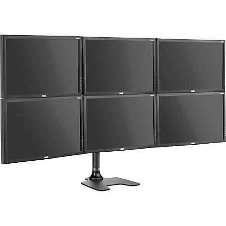 Atdec Spacedec Freestanding 6-monitor Desk Stand
