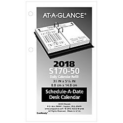 AT A GLANCE Financial Calendar Refill