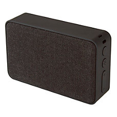 Ativa Fabric Covered Wireless Speaker Black