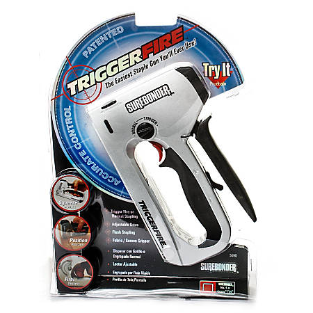 Surebonder Trigger Fire Heavy-Duty Staple Gun