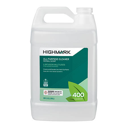 Highmark® All-Purpose Cleaner, Herbal Scent, 128 Oz
