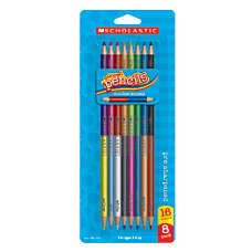 Scholastic Double Ended Color Pencils Pack