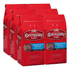 Community Coffee Arabica Ground Coffee Breakfast
