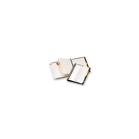 Cardinal® OneStep® Index System, A-Z, Clear