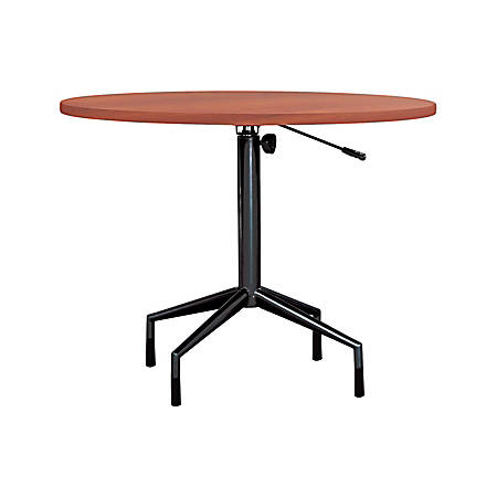 Safco® RSVP Table Top, Round, Cherry