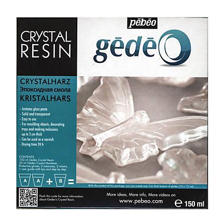 Pebeo Gedeo Crystal Resin, 150 mL