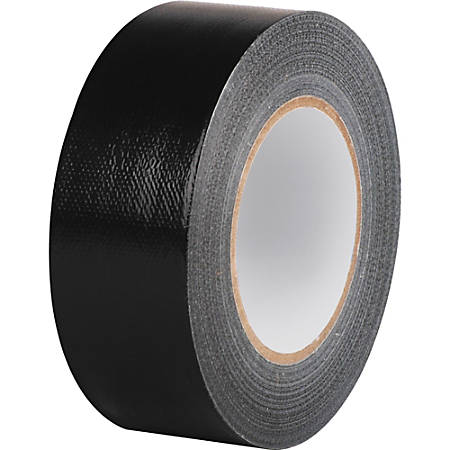 "Business Source General-purpose Duct Tape - 2"" Width x 60 yd Length - Durable - 1 Roll - Black"