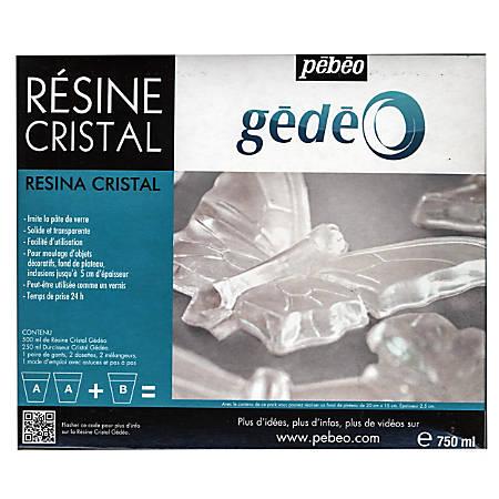 Pebeo Gedeo Crystal Resin, 750 mL