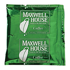 Maxwell House Decaffeinated Coffee 15 Oz