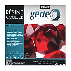 Pebeo Gedeo Color Resin Ruby 300