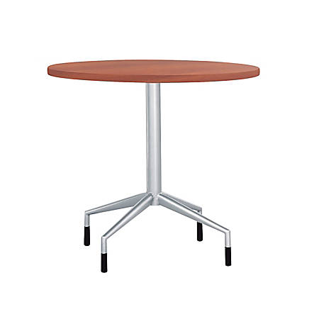 """Safco® RSVP Fixed-Height Table Base, 29""""H, Silver"""